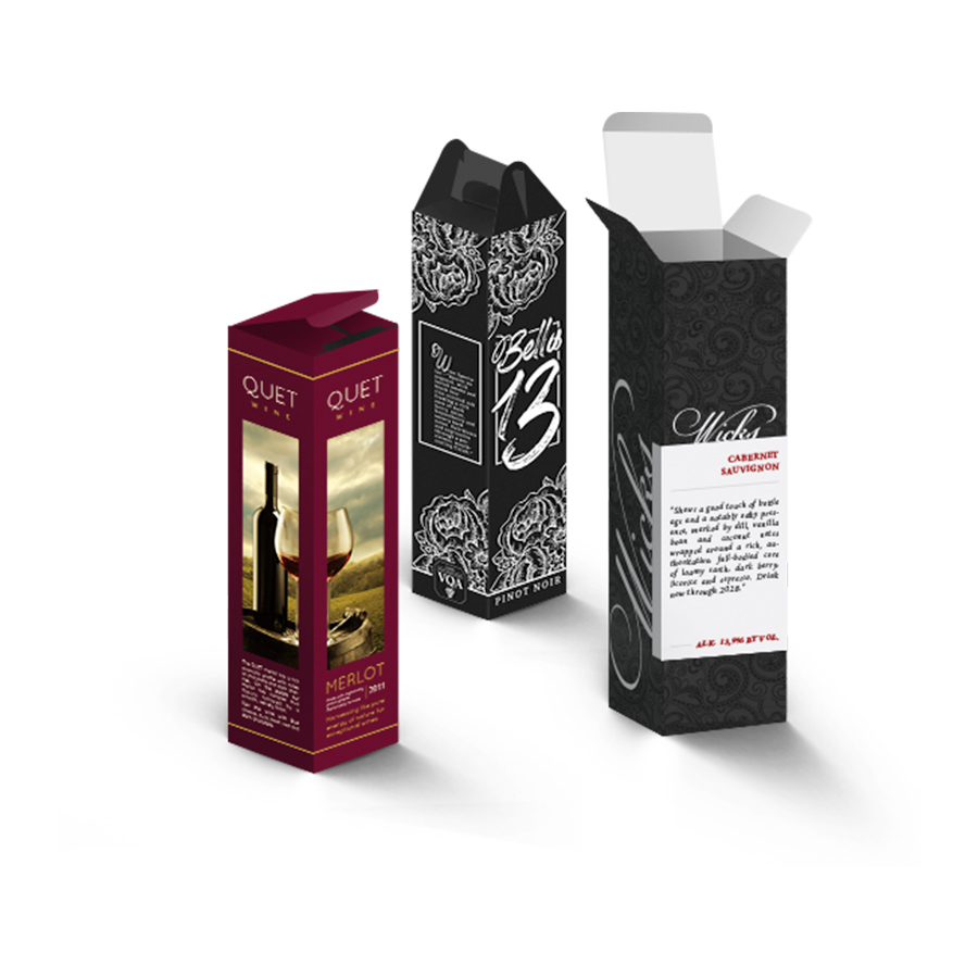 Wine Boxes Refine Packaging