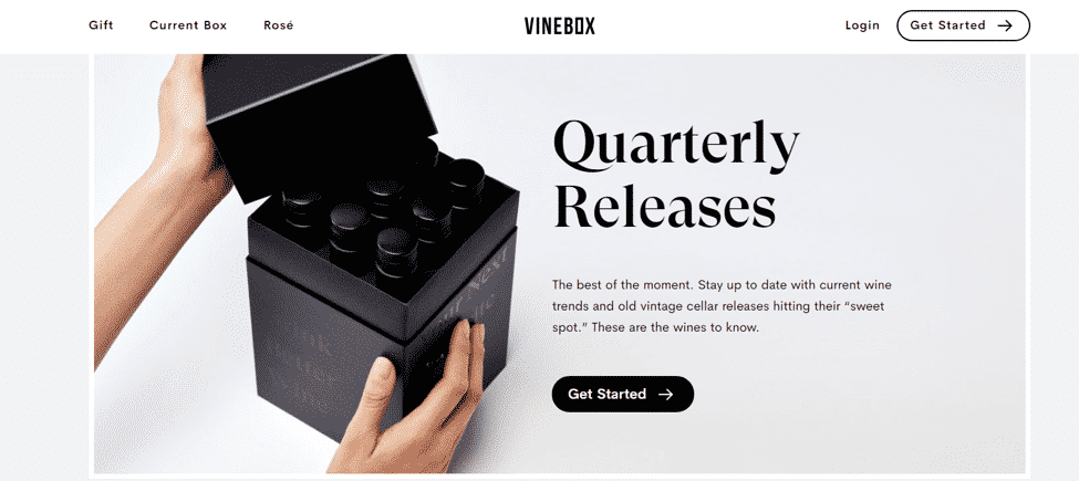 Vinebox Custom Packaging Example