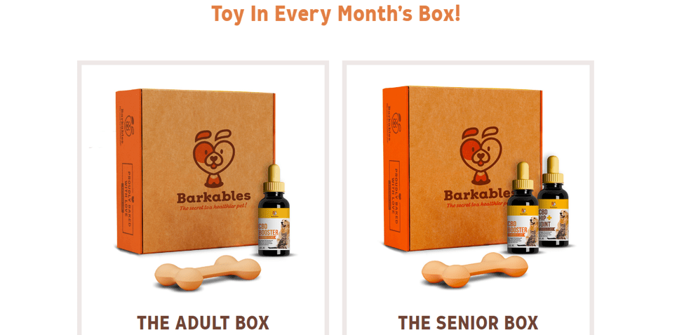 barkables custom printed boxes