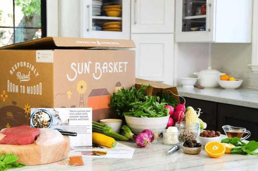 sun basket custom printed boxes