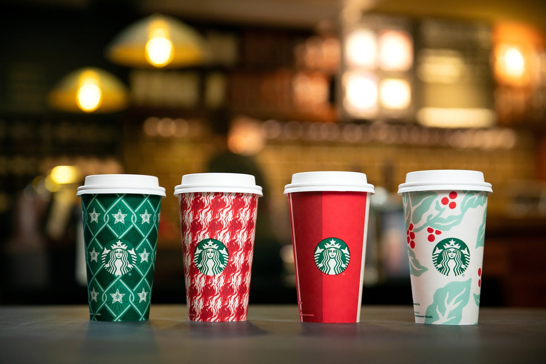 Starbucks Holiday Packaging