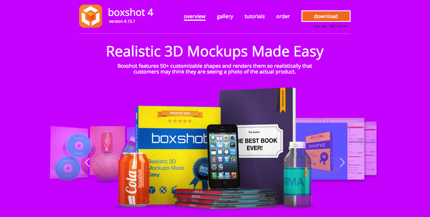 boxshot 3d mockups design custom box templates