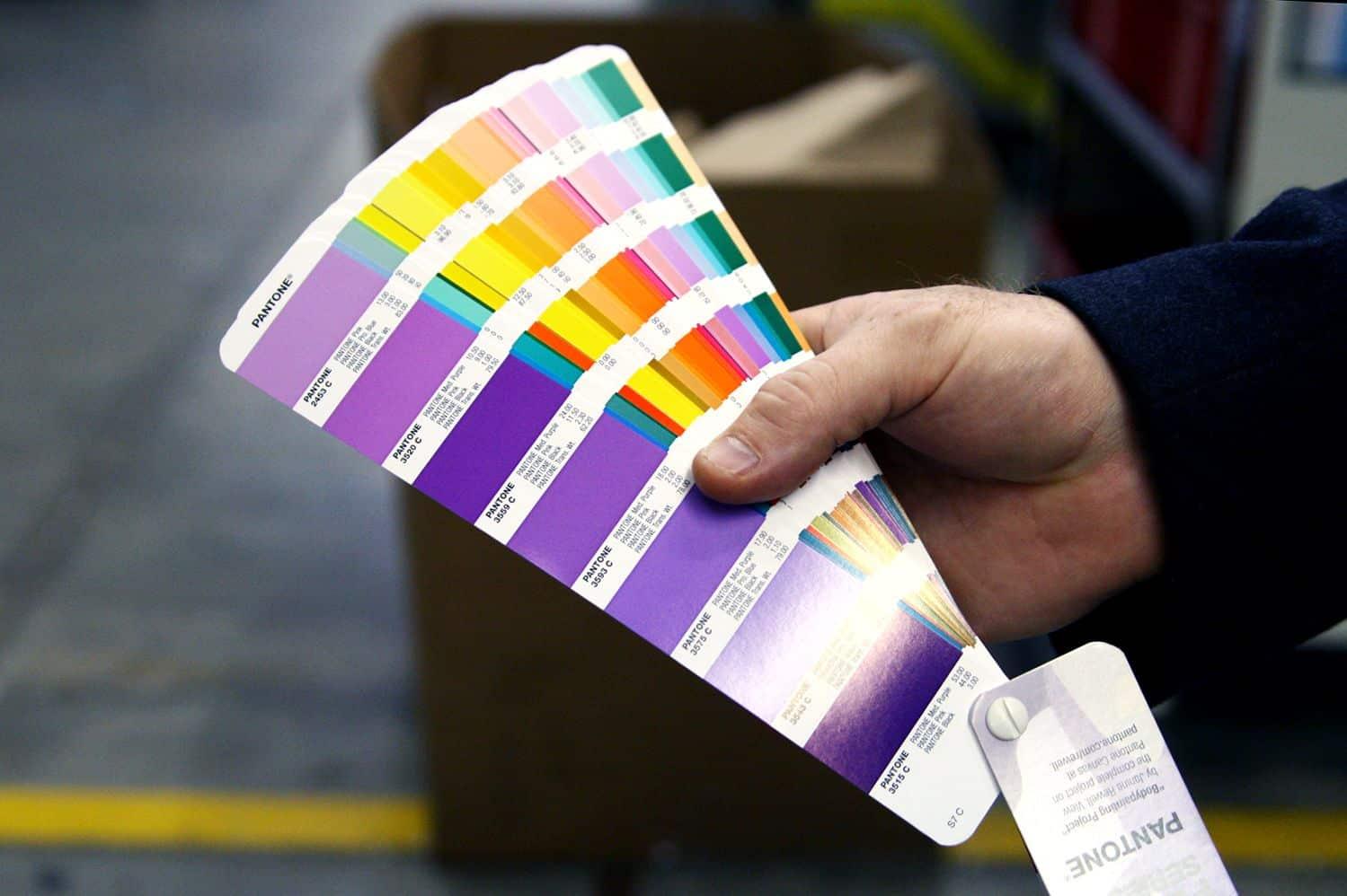 Pantone PMS Color Market Relevant Colors