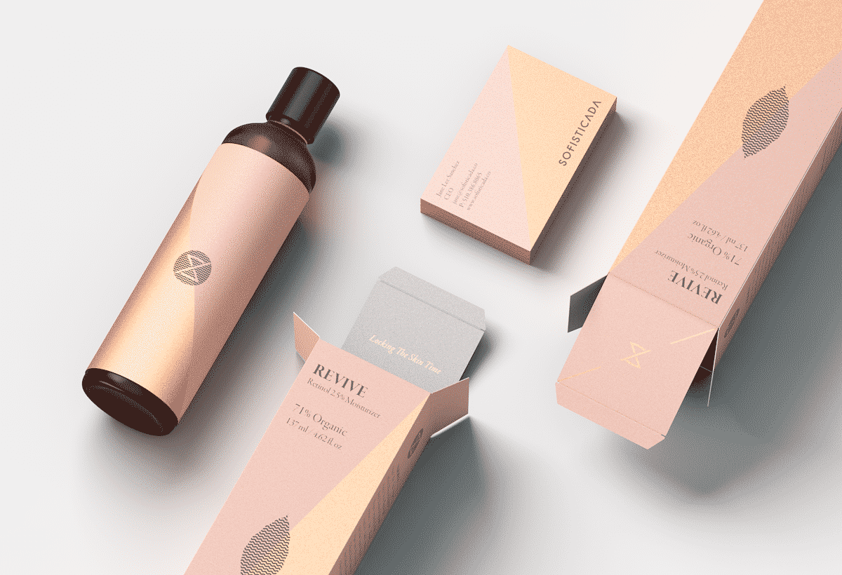 beauty custom packaging patterns