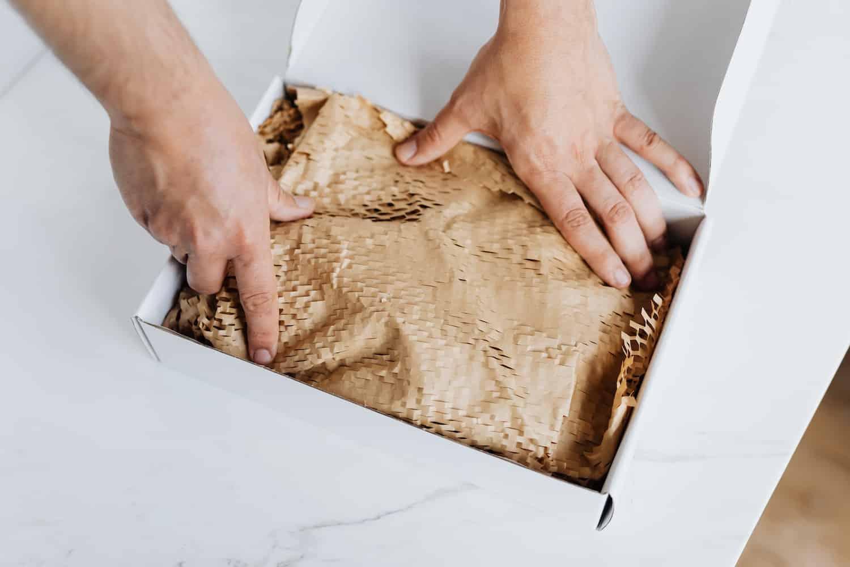 packaging material foam peanuts